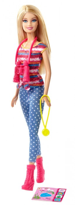 Barbie Life in the Dreamhouse The Amaze Chase Camping Barbie Doll