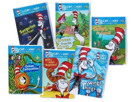 Dr. Seuss Cat in the Hat 6 DVD Bundle