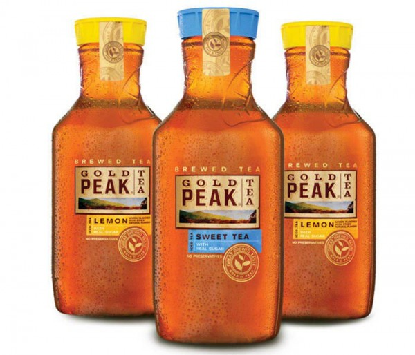 Gold Peak Iced Tea Chilled, Litres ˝˜ ˜˚˛˚˝˙˜ˆˆ˝ Present this coupon with your More Rewards card to the cashier at time of purchase. Coupon cannot be combined with any other Overwaitea Food Group coupon offer on this product or redeemed for cash. Offer excludes reduce-to-clear items. No substitutions. While supplies last.