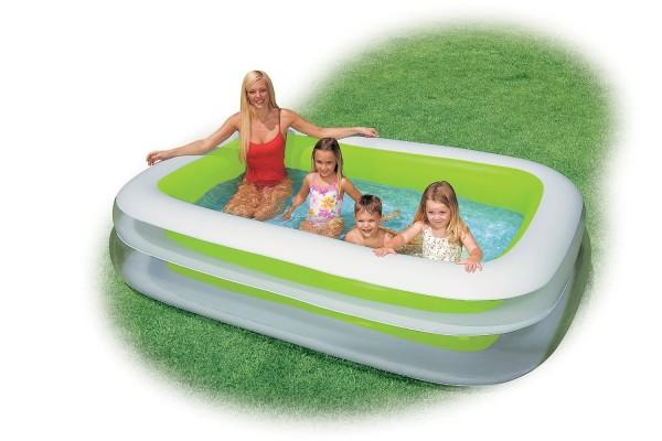intex swim center family pool instructions