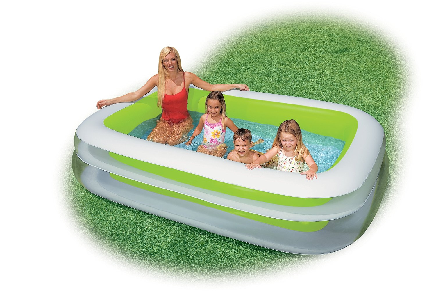 Intex swim center family inflatable pool only reg become a coupon queen - Inflatable pool ...