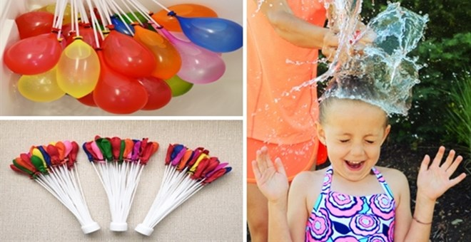 Magic Water Balloon Fillers with Over 100 Balloons