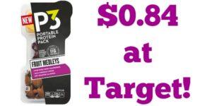 Target: Oscar Mayer P3 Protein Packs Fruit Medleys Only $0.84!