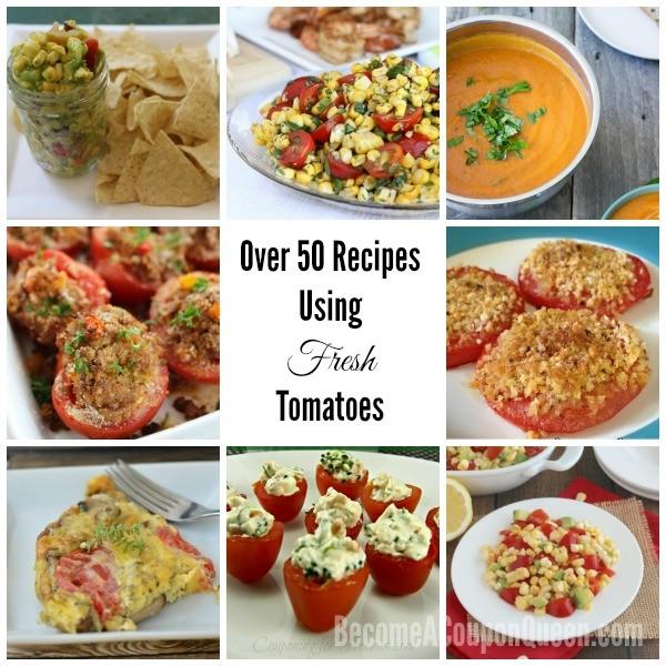 Recipes Using Fresh Tomatoes