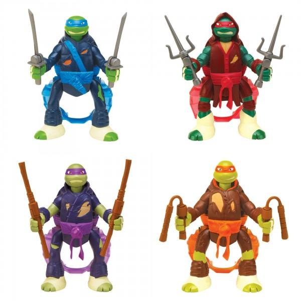Teenage Mutant Ninja Turtles Throw N Battle Figures