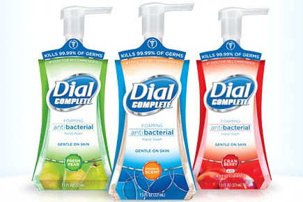 dial complete hand soap