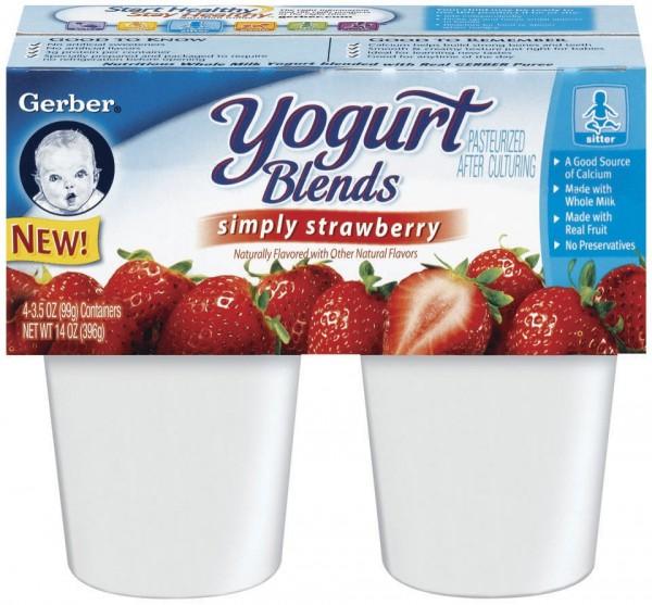 gerber yogurt blends