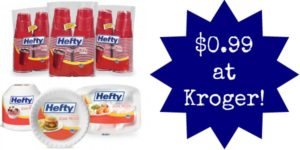 Kroger: Hefty Products Only $0.99!