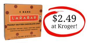 Kroger: Larabars Multi-Pack Only $2.49!