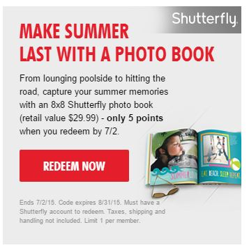 8x8 shutterfly photo book my coke rewards