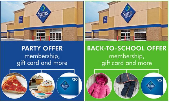 sam's club membership deals zulily
