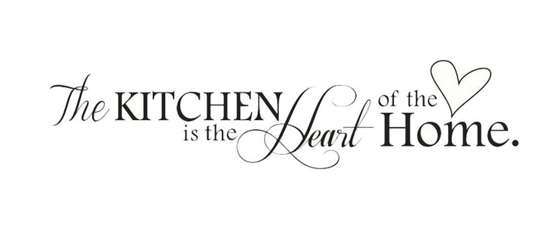 11 portraits and designs the kitchen is the heart of the the kitchen is the heart of the home wall art quote