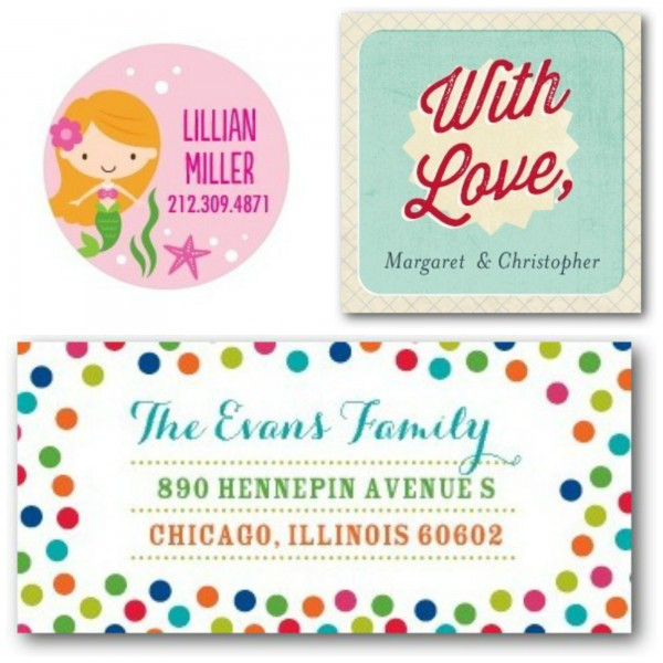 Get Half Off Labels and Gift Tags at Tiny Prints! Today Only!