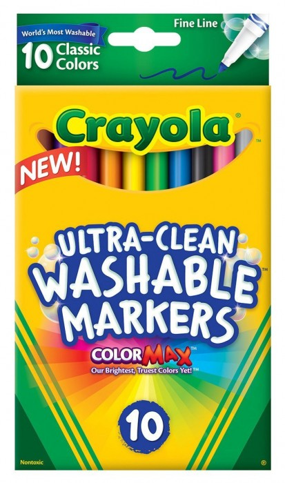 Crayola Ultraclean Fineline Classic Markers