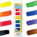 Crayola Washable Watercolors 8-Count Only $1.99!