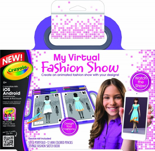 Crayola 39 S My Virtual Fashion Show Only Become A Coupon Queen