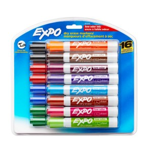Expo Dry Erase Markers 16-Pack Only $9.07!