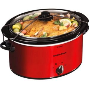 Hamilton Beach 5-Quart Portable Slow Cooker as low as $12.60!