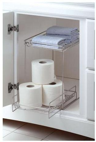 Mainstays 2-Shelf Under Vanity Organizer