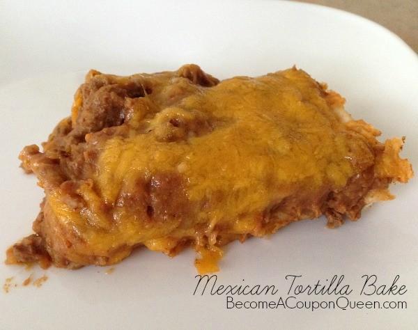 Mexican tortilla bake