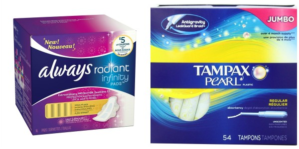 Tampax and Always Products