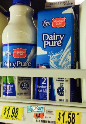 dairypure milk carton