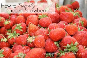 How to Properly Freeze Strawberries