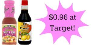 Target: Kikkoman Cooking Sauces Only $0.96!