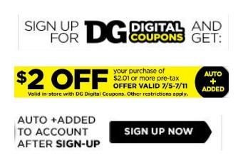new dollar general coupon