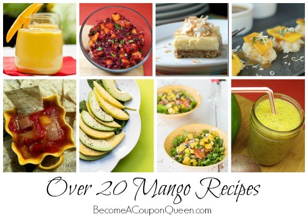 over 20 mango recipes
