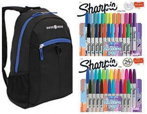Sharpie Packs or Backpacks Only $8!