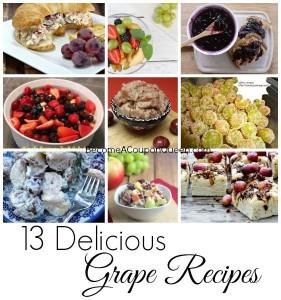 13 Delicious Grape Recipes