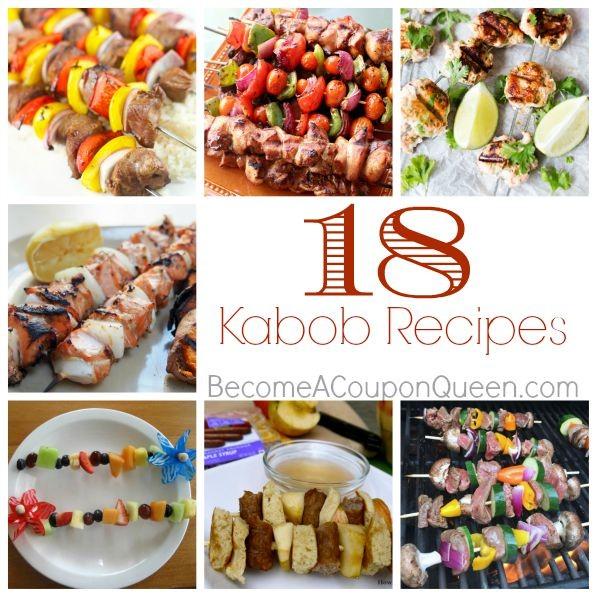 18 kabob recipes