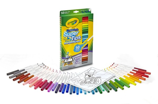 Crayola Washable Super Tips Markers