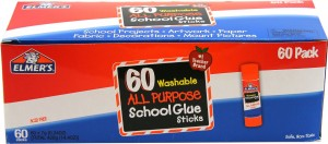 Elmer's Washable All-Purpose School Glue Sticks 60-Pack Only $12.49! ($0.20 each)
