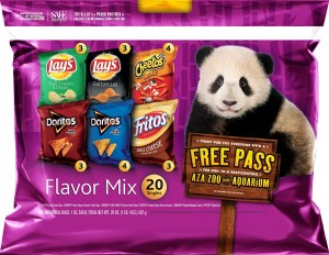 Frito-Lay Chips Flavor Mix Multipack, 20-count Only $6.98!