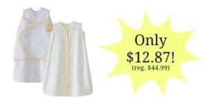 HALO SleepSack 100% Cotton Wearable Blanket 2-Pack Only $12.87! (reg. $44.99)