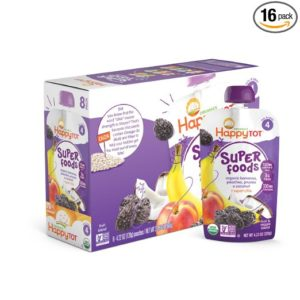 Happy Tot Organic Baby Food Pouches Only $0.59 Shipped!