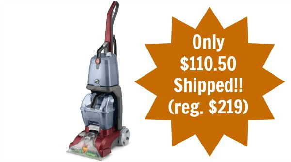 Hoover Carpet Basics Power Scrub Deluxe Carpet Cleaner