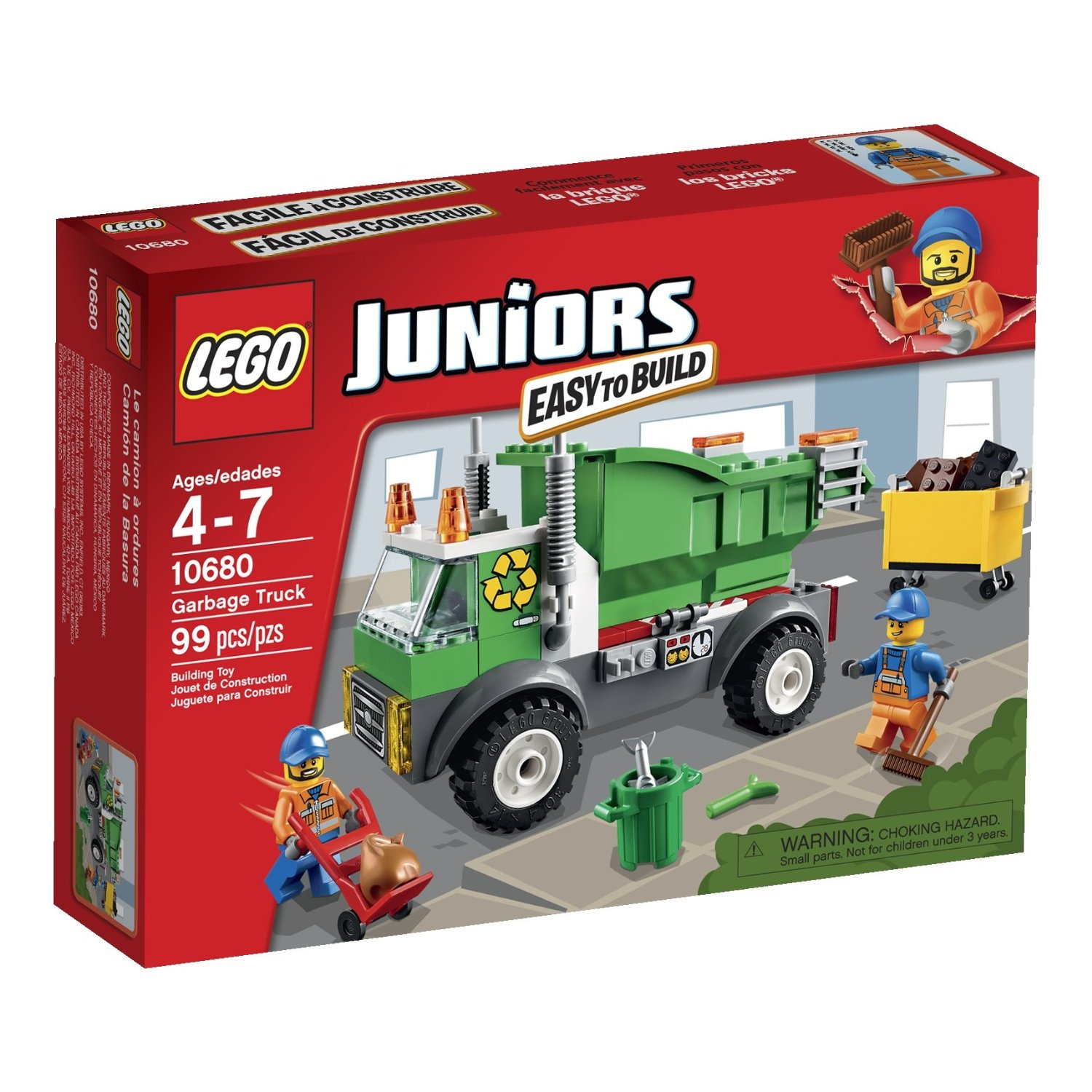 Lego Juniors Garbage Truck Only 14 99 Lowest Price