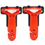 Seatbelt Cutter & Window Breaker Emergency Escape Tool, 2 Pack Only $6.99!