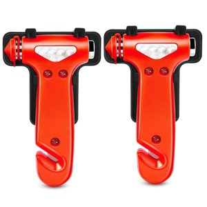 Seatbelt Cutter & Window Breaker Emergency Escape Tool, 2 Pack Only $7.25! Best Price!