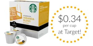 Target: Starbucks K-Cups Only $0.34 per K-Cup!