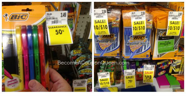 FREE Bic Stationery Products at Schnucks!
