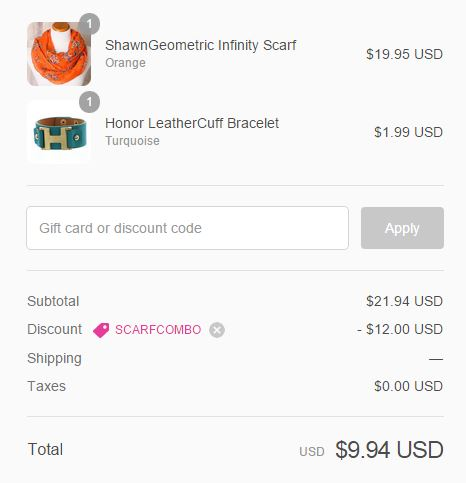 cents of style checkout
