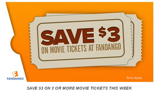 fandango $3 off