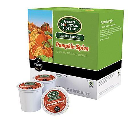 green mountain pumpkin spice k-cups