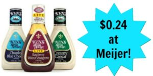 Meijer: Ken's Salad Dressing Only $0.24!