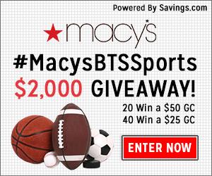 macy's #macysbtssports giveaway