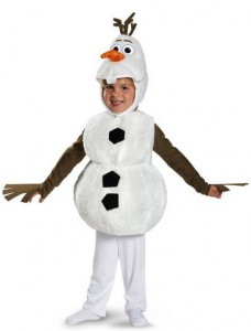 Disney Frozen Olaf Deluxe Costume as low as $8.07!